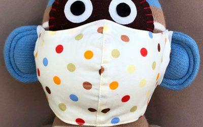 Hochwertige Stoff-Masken aus Bio-Baumwolle