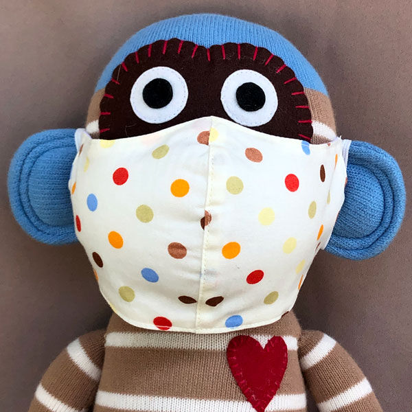 Stoffmasken aus Bio-Baumwolle